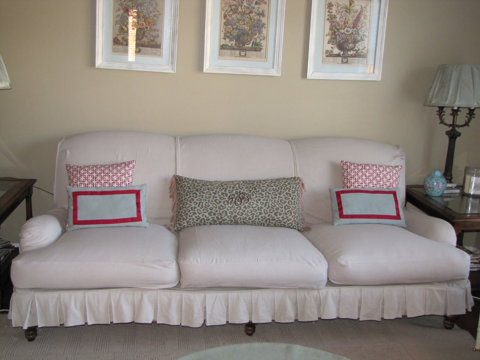 How To Slipcover Sofas And Chairs (make Cushion Covers)