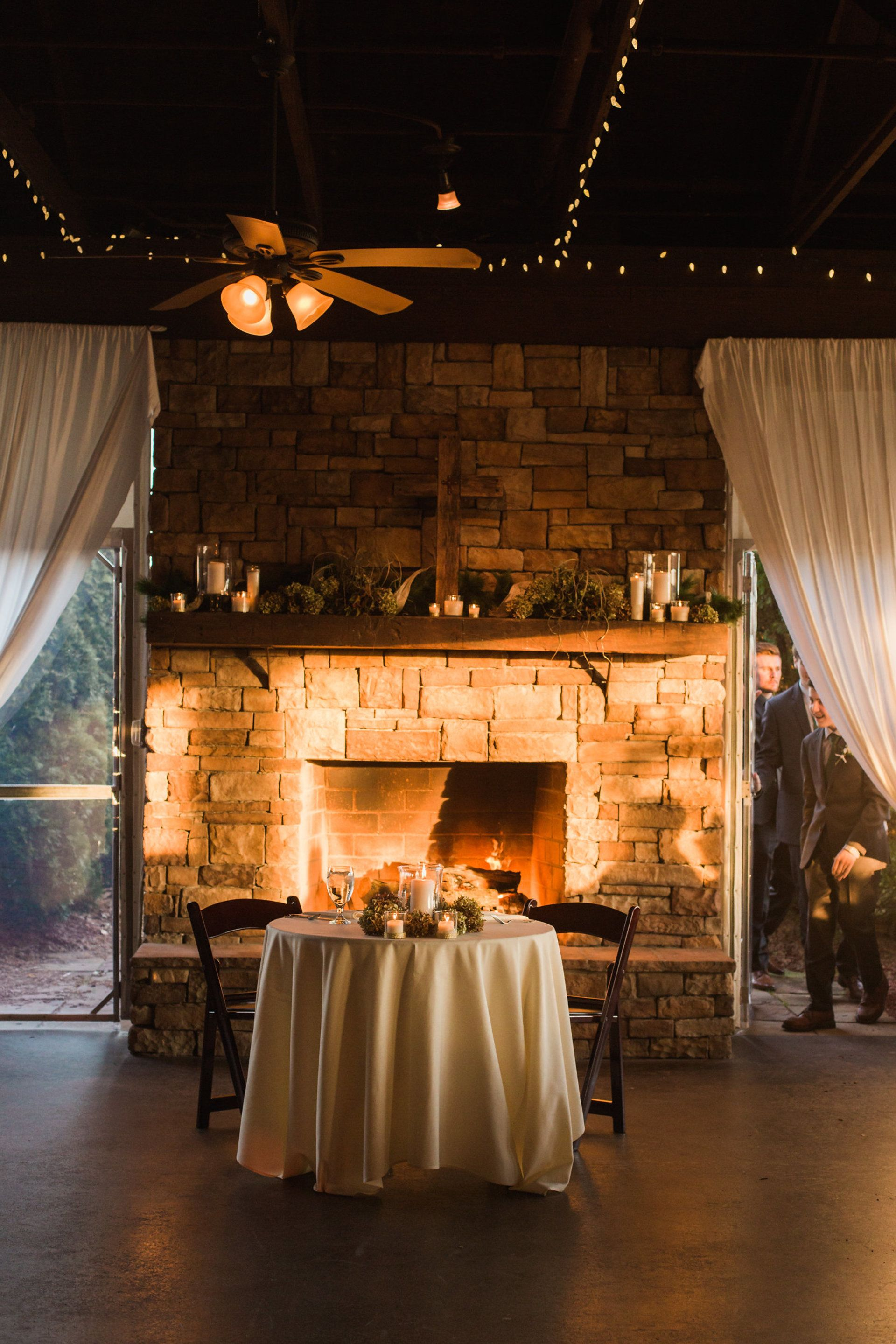 Rustic Winter Wedding at Hermitage Golf Course | Old Hickory, TN ...