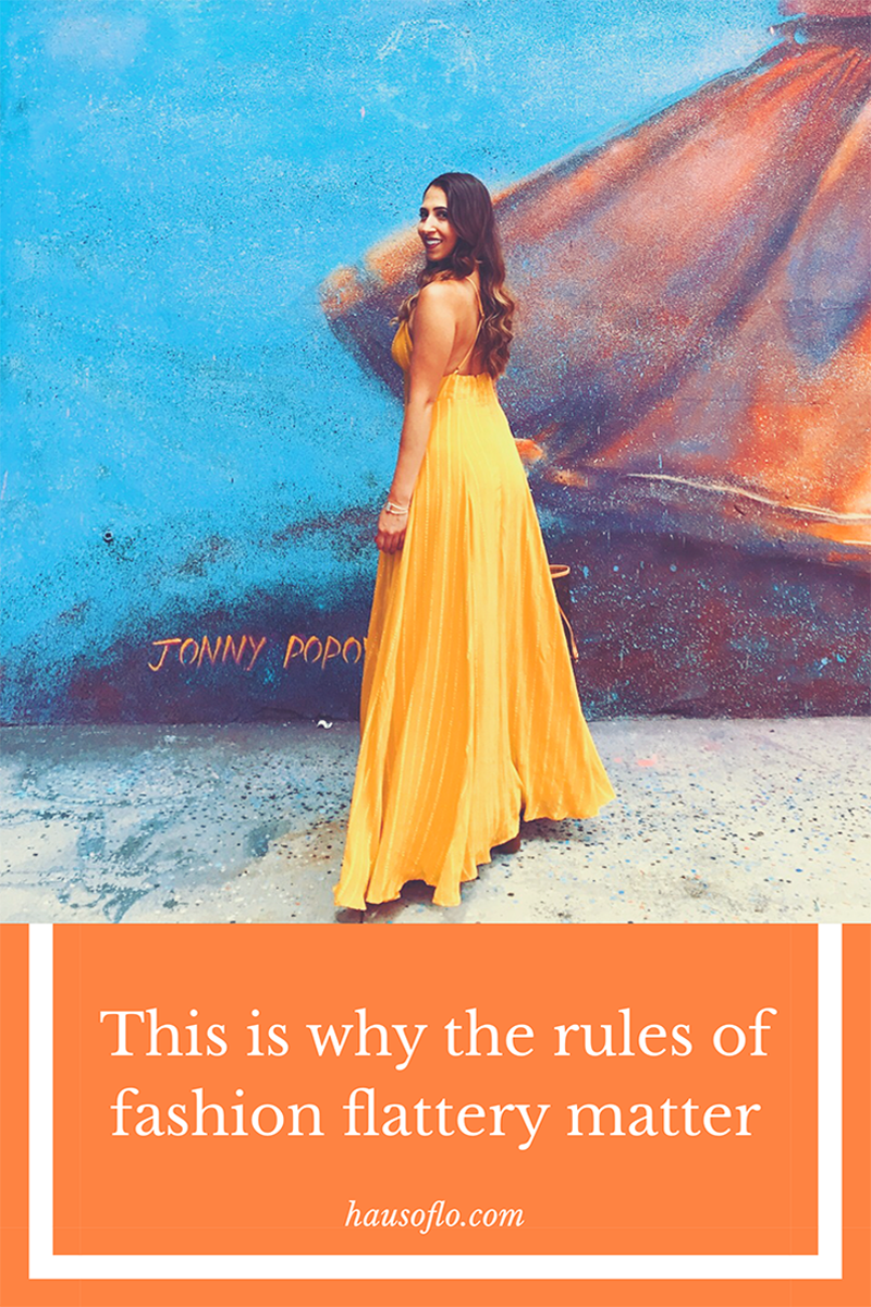 This is why the rules of fashion flattery matter yellow maxi dress