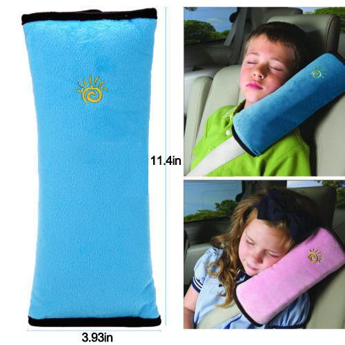 Car Child Safety Seat Belt Pad Strap Harness Shoulder Kids Sleep Pillow Cushion