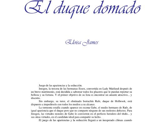 Eloisa James Google Drive Libros Romanticos Fortuna Libros