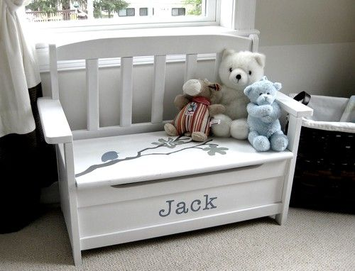 Feature Friday Aimee S Nursery Diy Toy Box Kids Toy