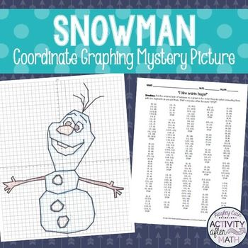 Christmas Reindeer Coordinates 4 Christmas Math Activities Math Activities Graphing Activities