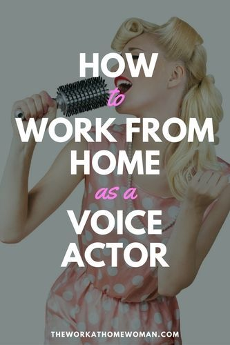 How To Call Out Of Work How To Work From Home As A Voice Actor  Pinterest  Business Extra .