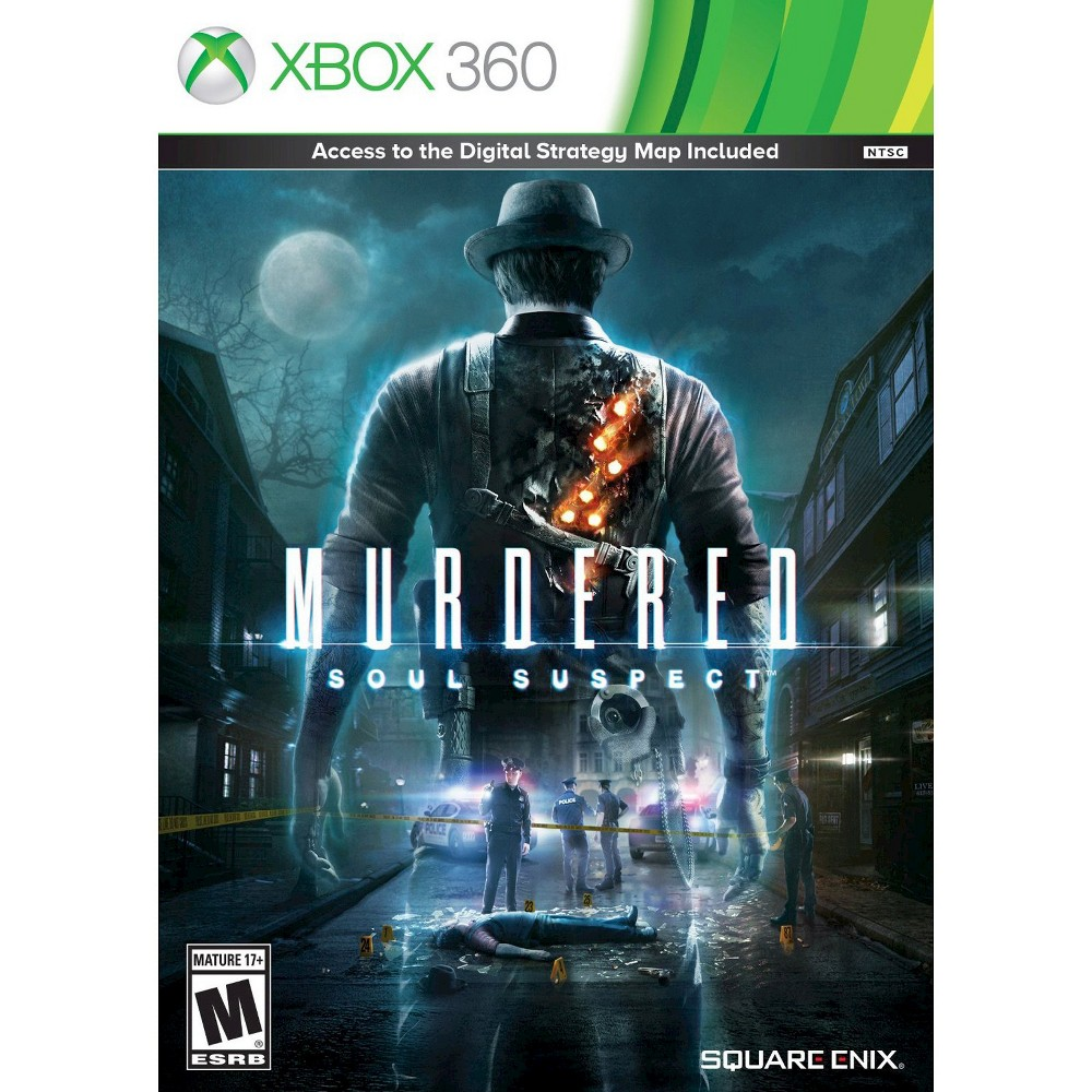 Murdered Soul Suspect Pre Owned Xbox 360 Adult Unisex Xbox One