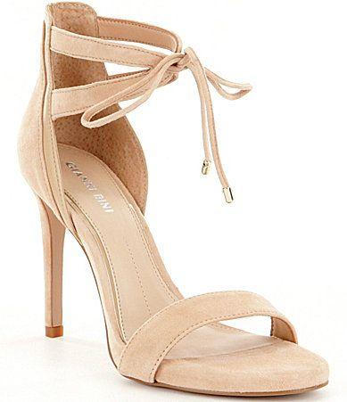 Jordie Suede Ankle Tie Dress Sandals zYgktDivGE