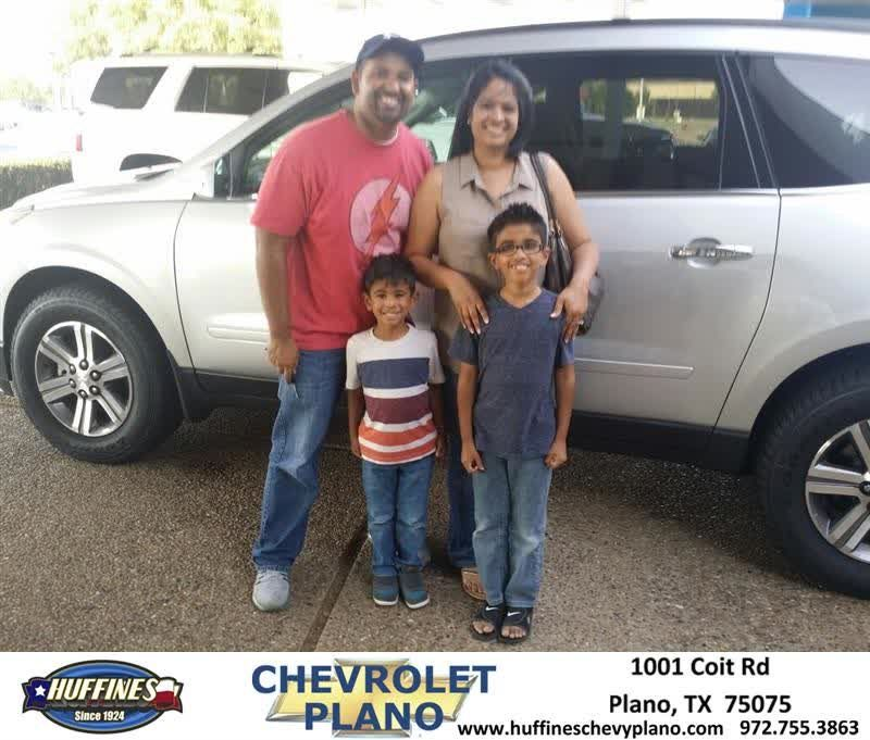 Happy Anniversary to Alex on your #Chevrolet #Traverse from Taylor