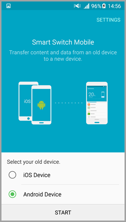 transfer contact list from one phone to another