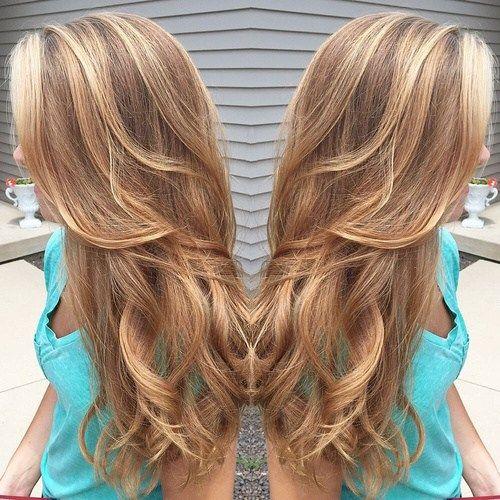 karamel blond haarkleur