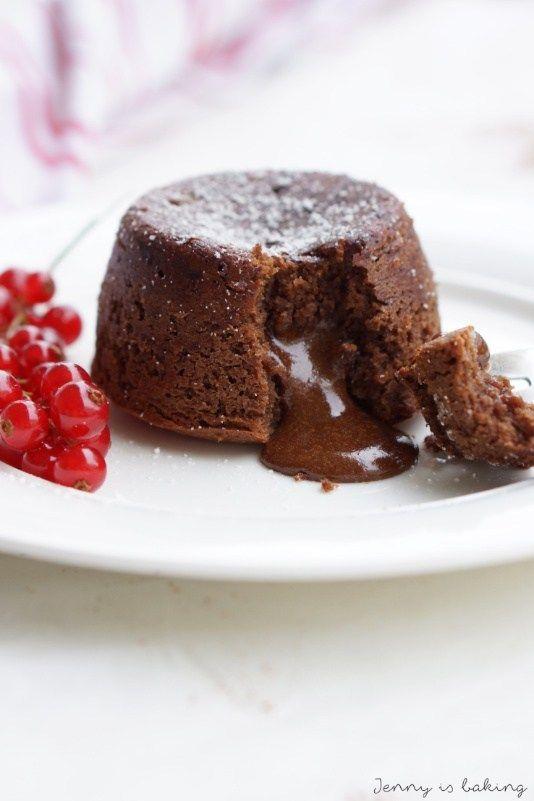 Soulfood: Schokoküchlein mit flüssigem Kern - Jenny is baking