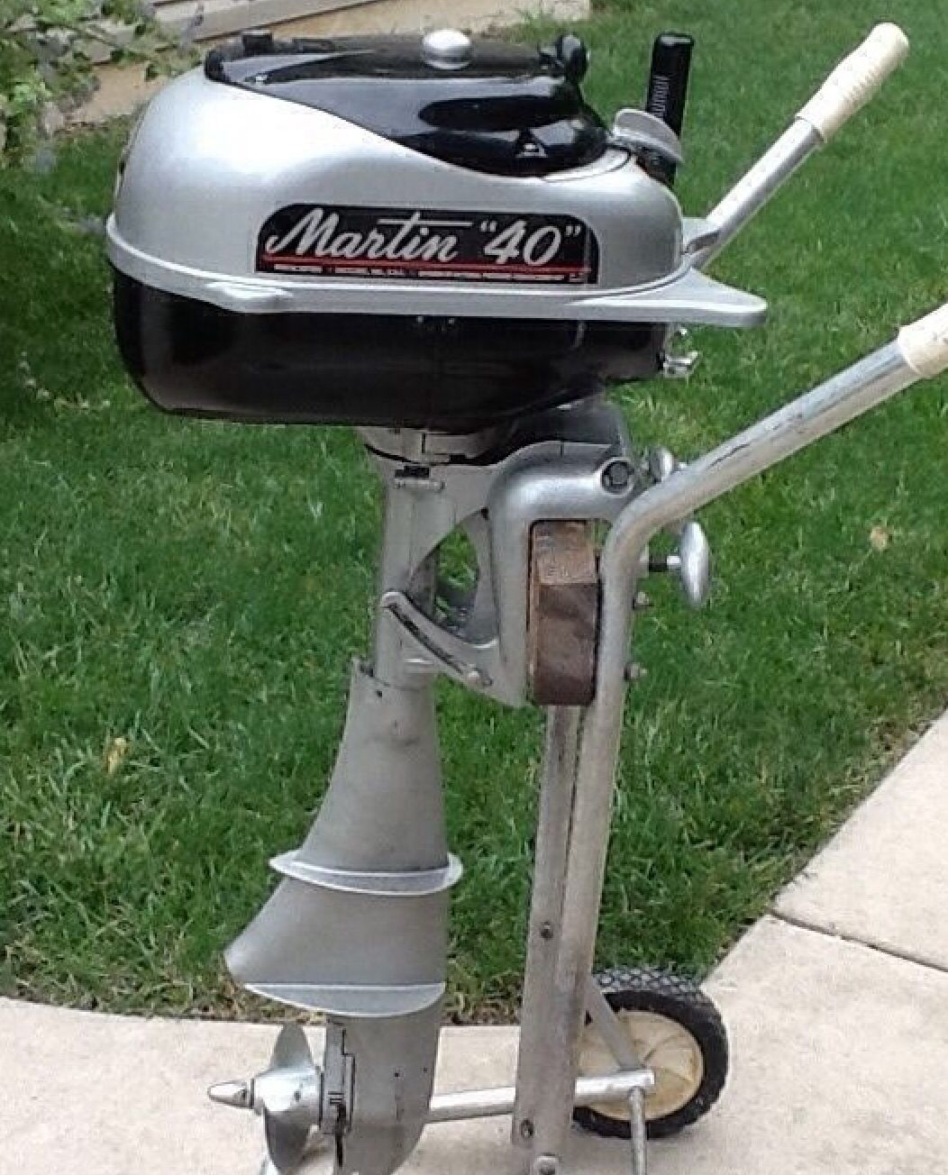 Vintage Martin Outboard Old Boats Sail Boat Motors Engine