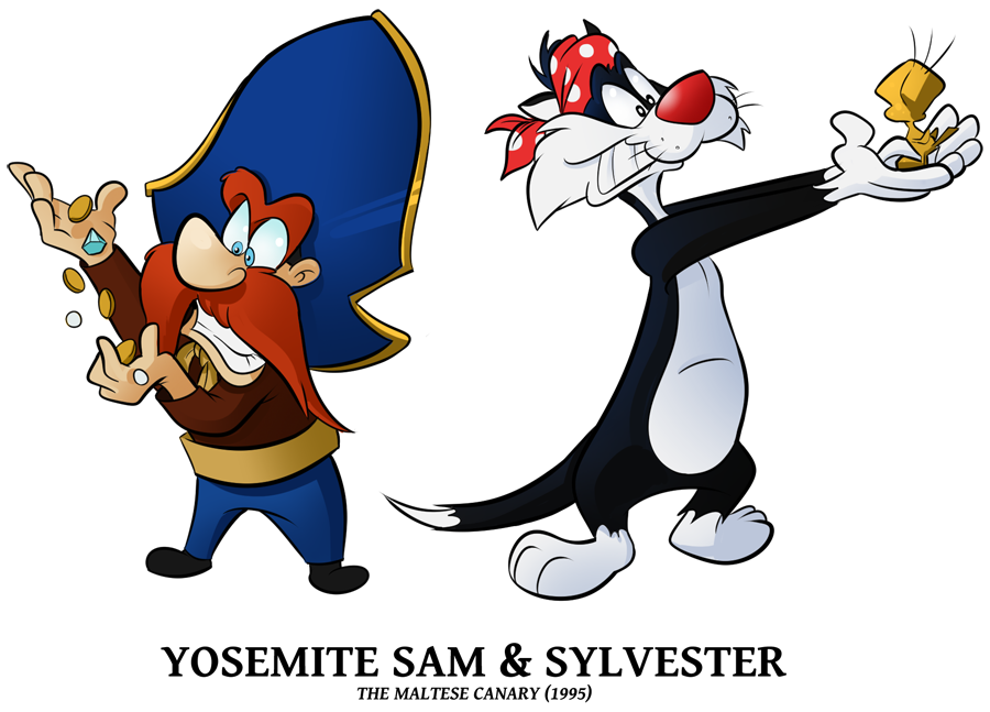 Stm Sam N Sylvester By Boscoloandrea On Deviantart Looney Tunes Characters Old Cartoons Cartoon