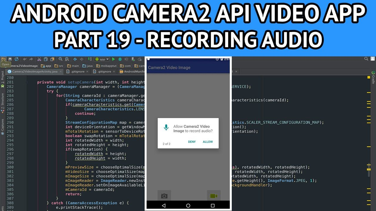 Record Video Android