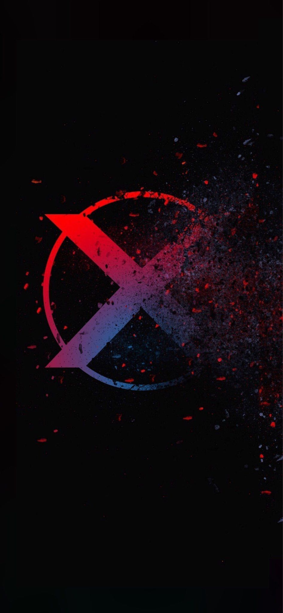 Pin By Melody P On All Things X Men Phone Wallpaper For Men Iphone Wallpaper Logo Glitch Wallpaper