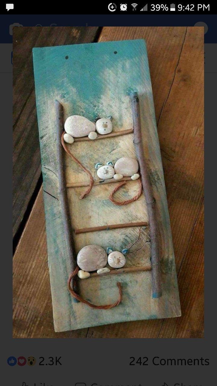 Pin by Leonarda on Rocks Rock crafts, Pebble art, Crafts