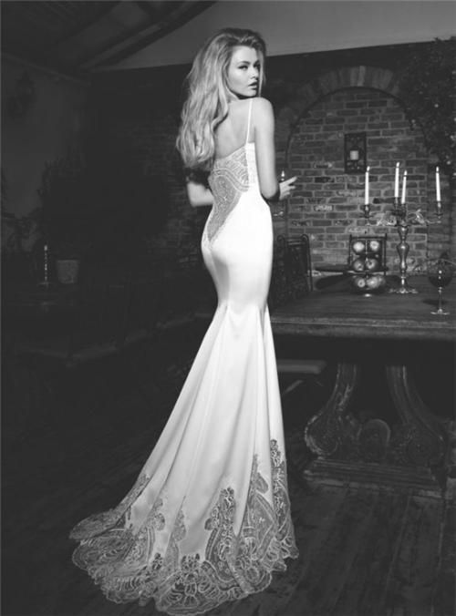Wedding Dress With Low Cut Back