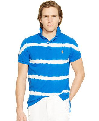 36f6c0fe Polo Ralph Lauren Custom-Fit Tie-Dyed Polo Shirt   Polo/Ralph Lauren ...