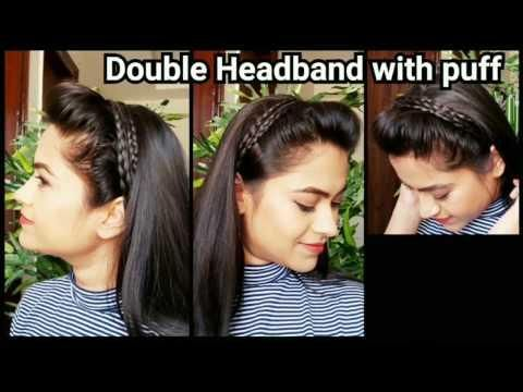 Headband With Puff Everyday Quick Easy Hairstyles For School For Medium To Long Hair Easy Hairstyles For School Cool Easy Hairstyles Easy Hairstyles