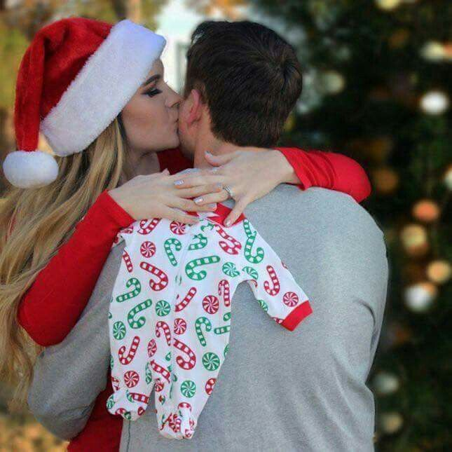 Christmas Baby Announcement win