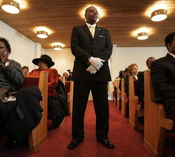 church ushers say their job is a calling