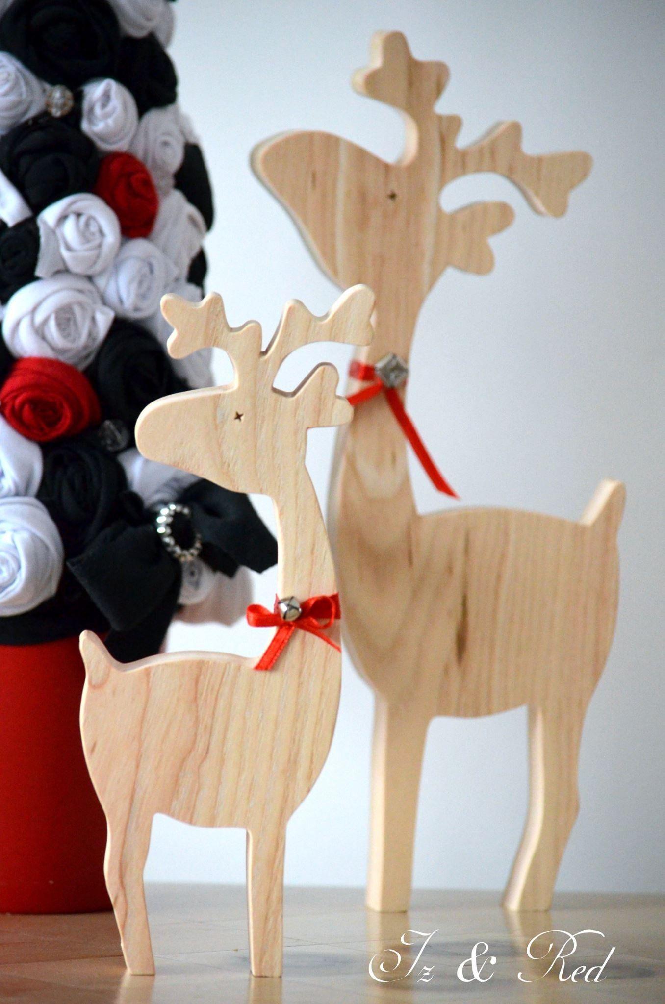 1000 images about woodcarve christmas on pinterest folk - Renos de navidad con luces ...