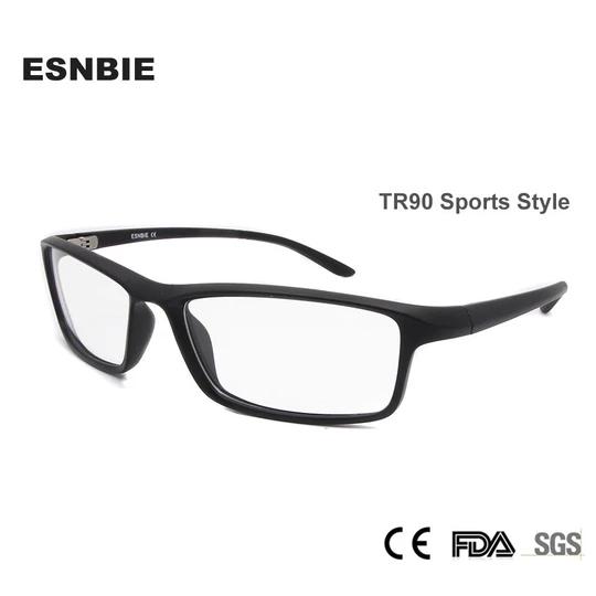 Tr90 Men Optical Glasses Frame Square Eyeglasses Frame Male Matt Black Eosegal Men S Optical Square Glasses Frames Eyewear Frames