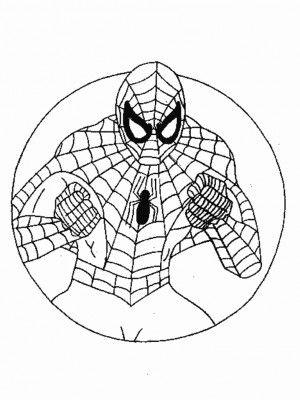 Spiderman Spiderman Coloring Spider Coloring Page Superhero Coloring