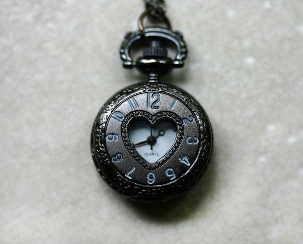 Heart Pocket Watch