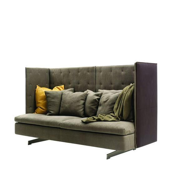 Grantorino High Back Sofa Designed By Jean Marie Maud Is Like A Small Piece Of Architecture The Helps Create End Comfortable Social