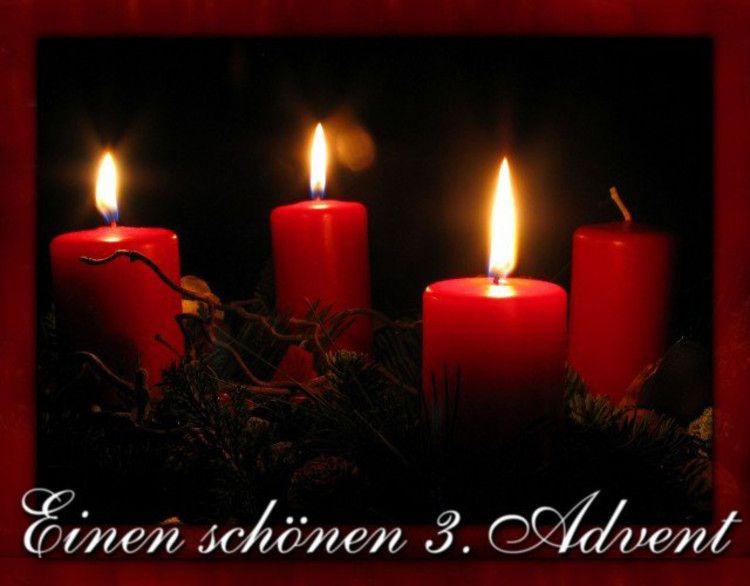 3 advent advent bilder advent und weihnachtsgl ckw nsche. Black Bedroom Furniture Sets. Home Design Ideas
