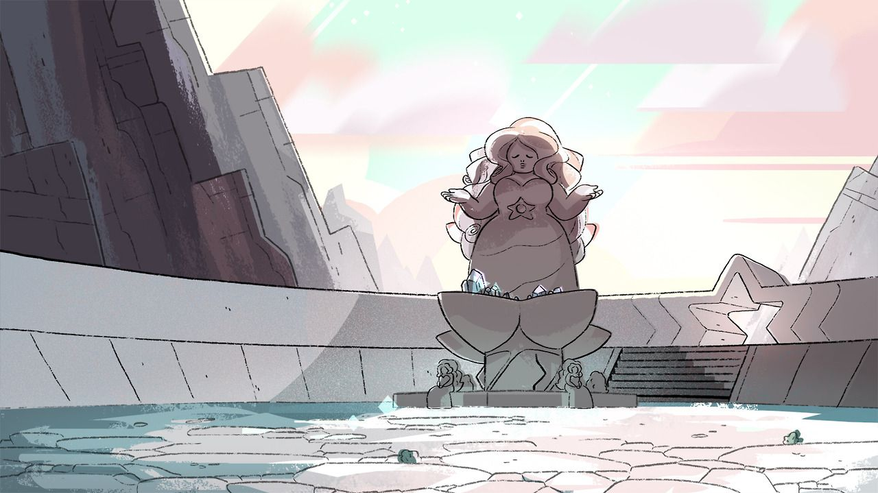 A Selection Of Backgrounds From The Steven Universe Episode An