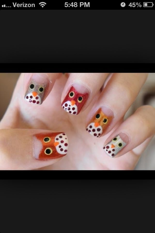 Fall nails | Beauty | Pinterest