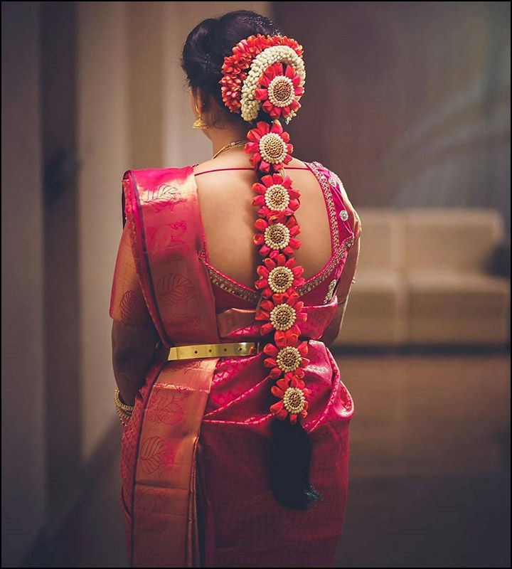 Beautiful South Indian Bridal Hairstyles BridalHairstyle