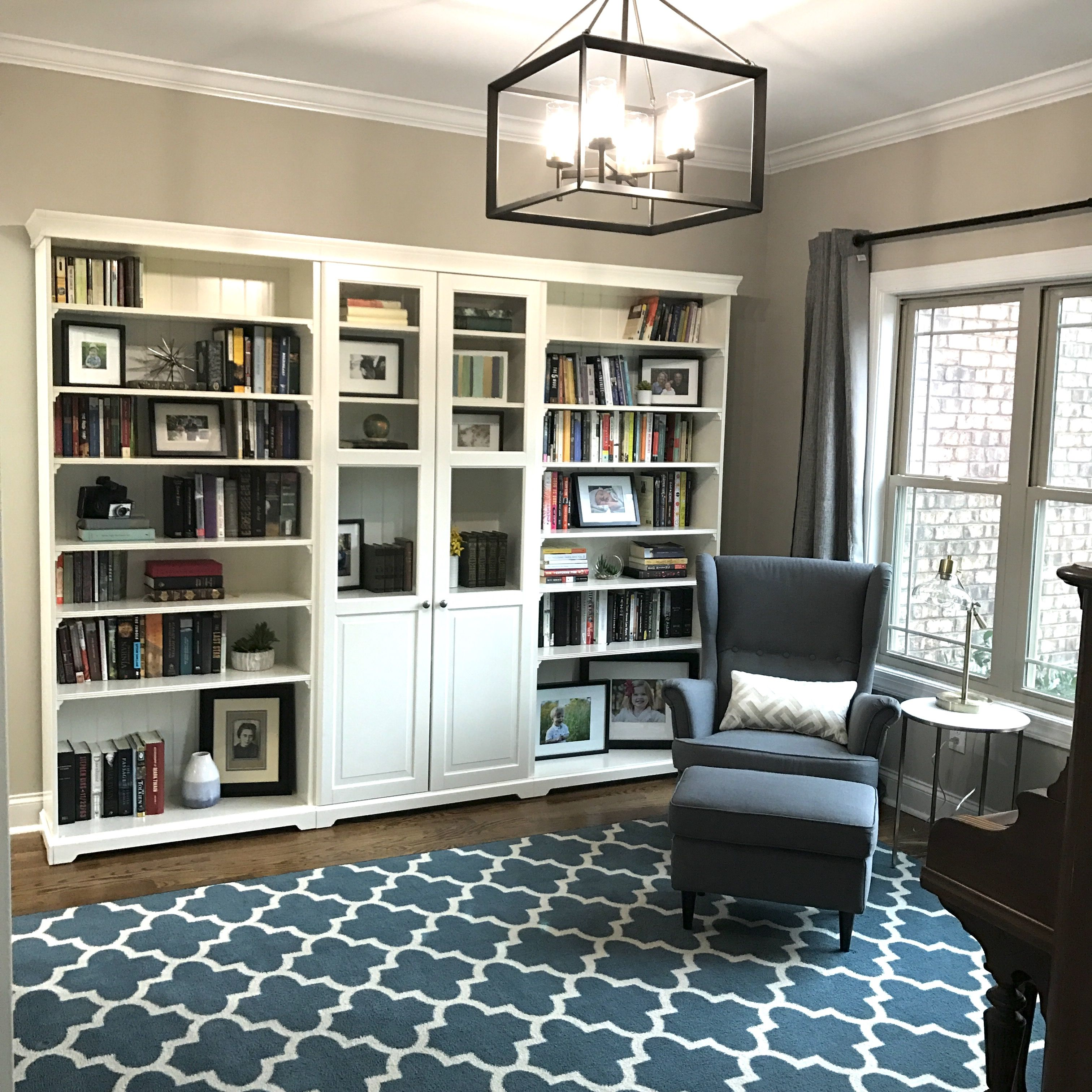 Ikea Liatorp Bookcase Bookshelves In Living Room Ikea Living