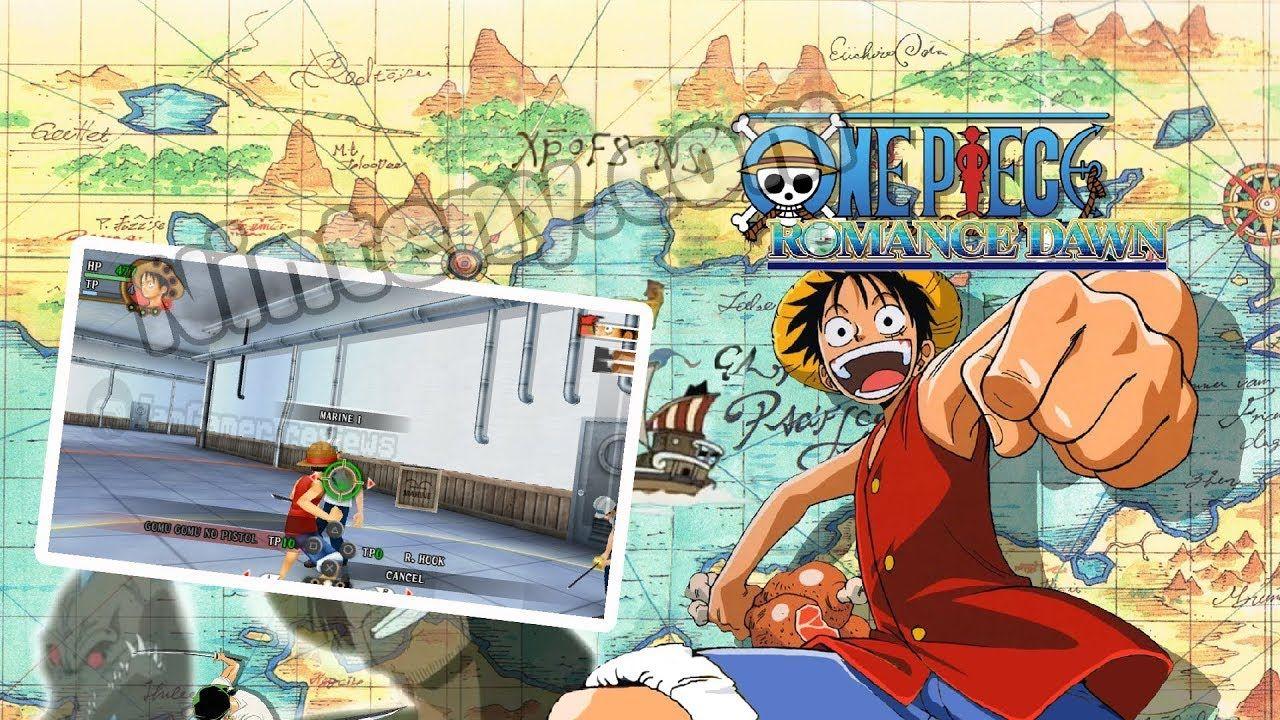 Liked on YouTube One Piece Romance Dawn PSP English