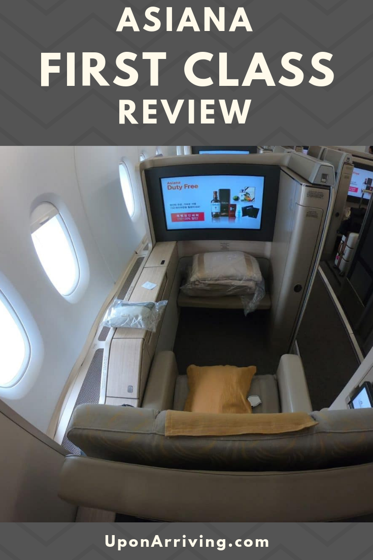 A detailed look at the Asiana A380 First Class Suites