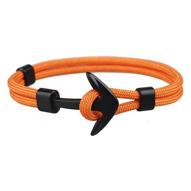 6668bb8ae3 Best Selling Anchor Bracelet | Anchor leather bracelets | Rope ...