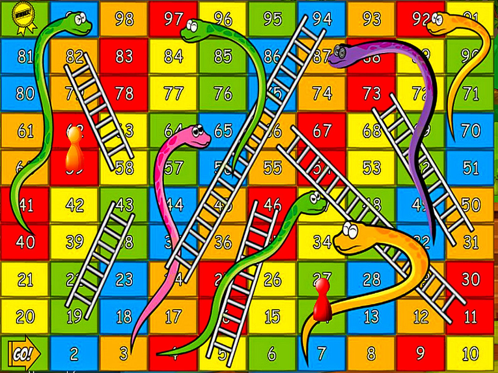 Free Slots 4u Snakes And Ladders