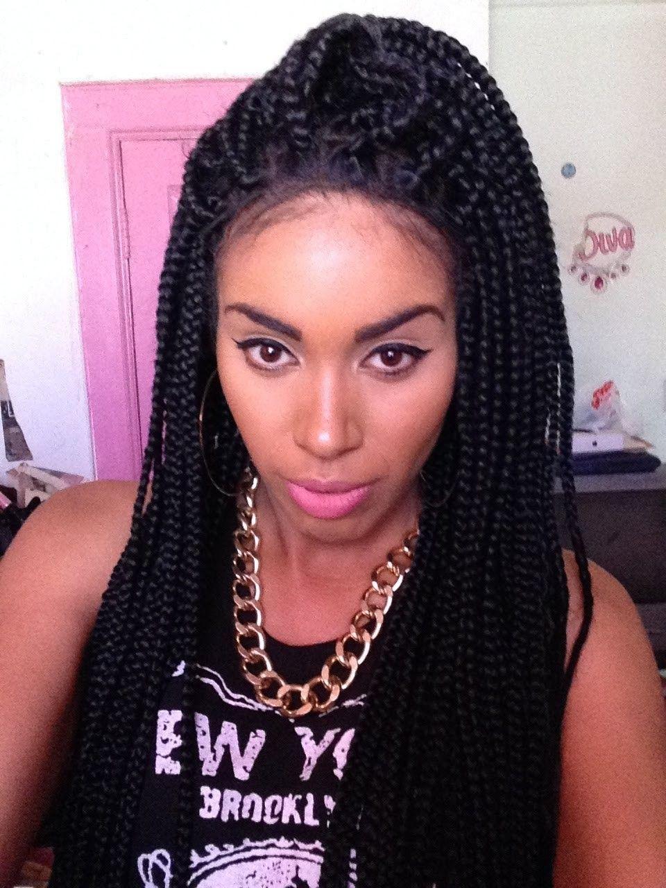 box braids   Braided hairstyles african american, Short ...