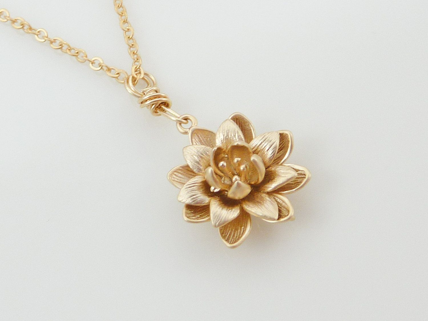 Gold Lotus Jewllery Jewels Pinterest Gold And Jewel