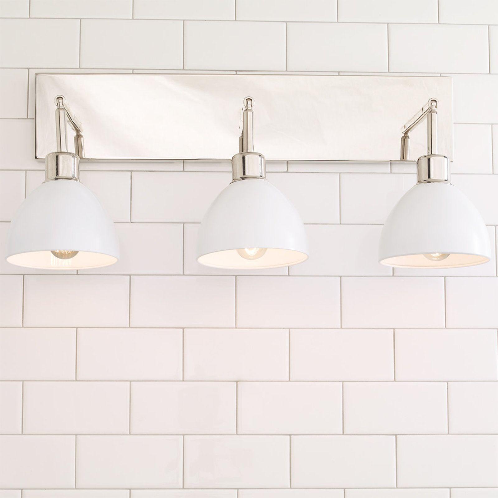 Young House Love Dapper Bath Light 3 Light Bathroom Lights Over Mirror Bathroom Lighting Bathroom Light Fixtures