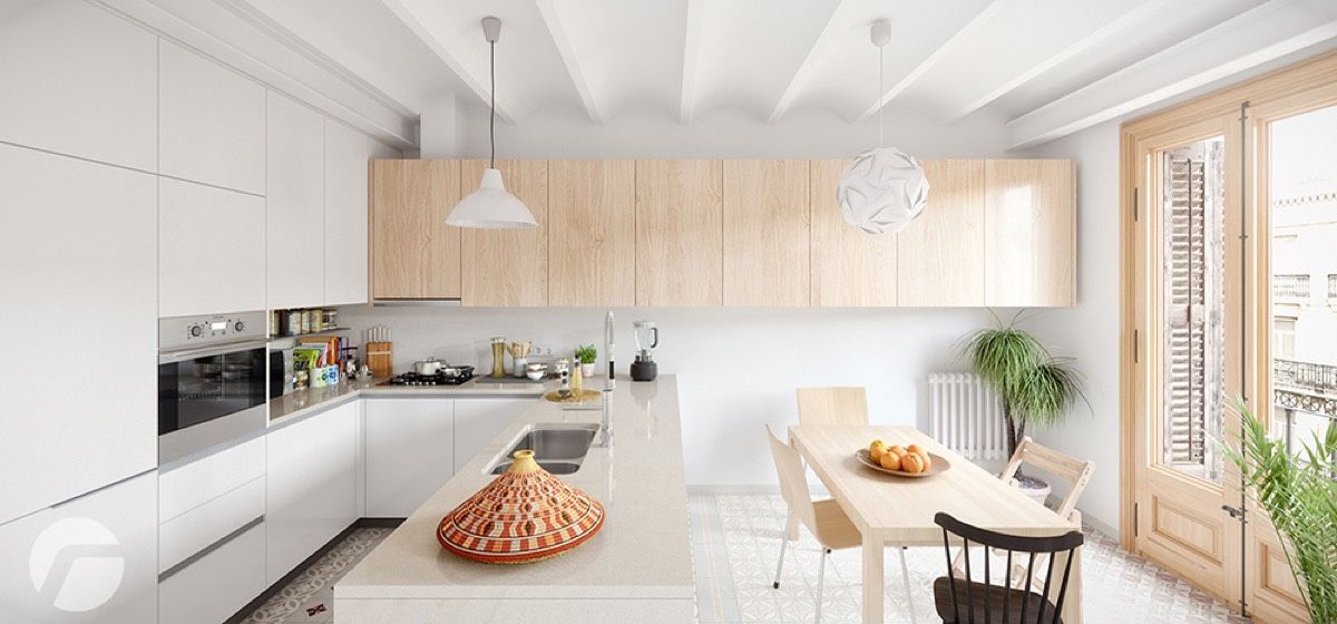 13 Awesome Nordic Kitchen Style To Beautify Your Home Interior