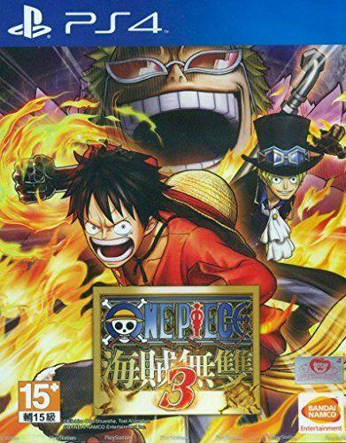 One Piece Kaizoku Musou 3 PS4 (Chinese sub Version