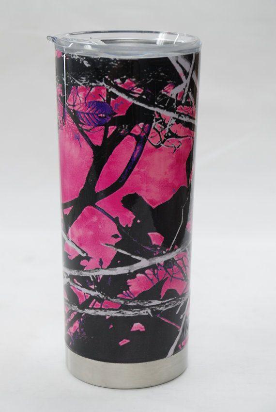 f0705b86418 Mossy Oak 20oz Insulated Tumbler Muddy Girl Camo by HDGraphics ...