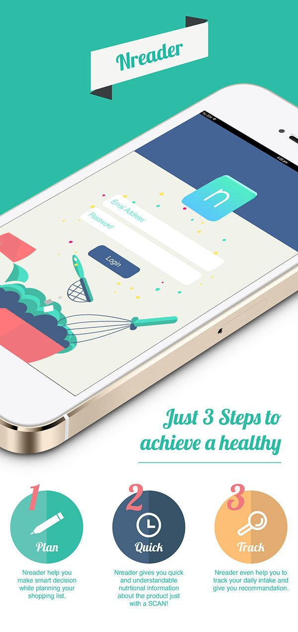 Nreader is an app that help consumer make fast and health