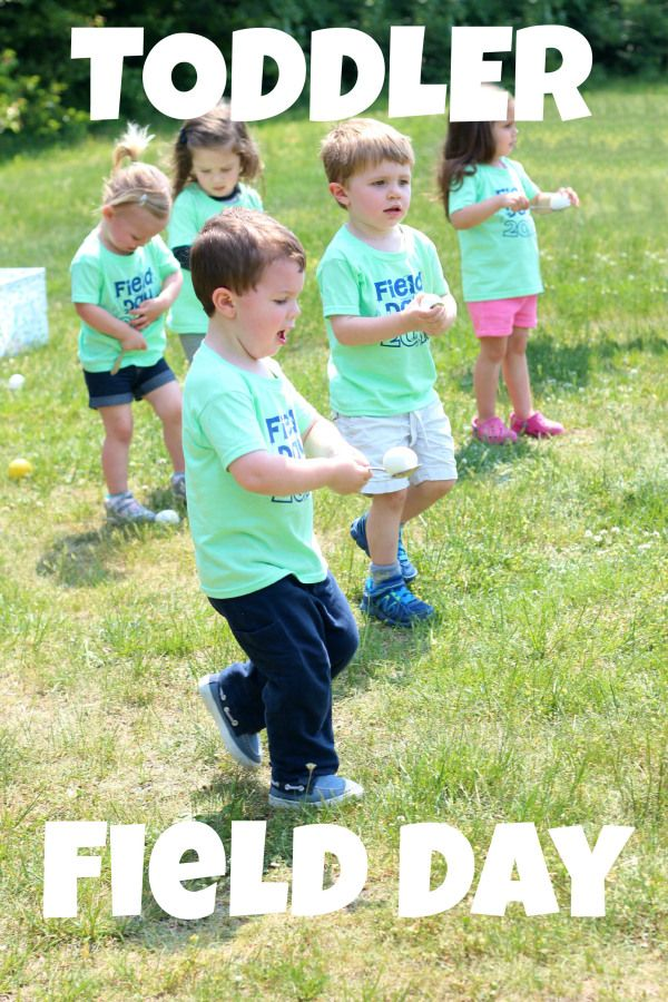 Toddler Field Day Might Be The Cutest Thing Ever | daycare