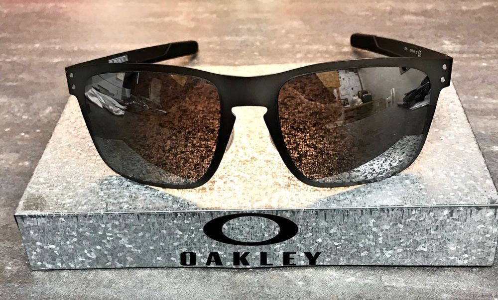 10afd895b5 NEW Oakley Holbrook Metal Matte Gunmetal - Prizm Black Polarized - OO4123-06   fashion