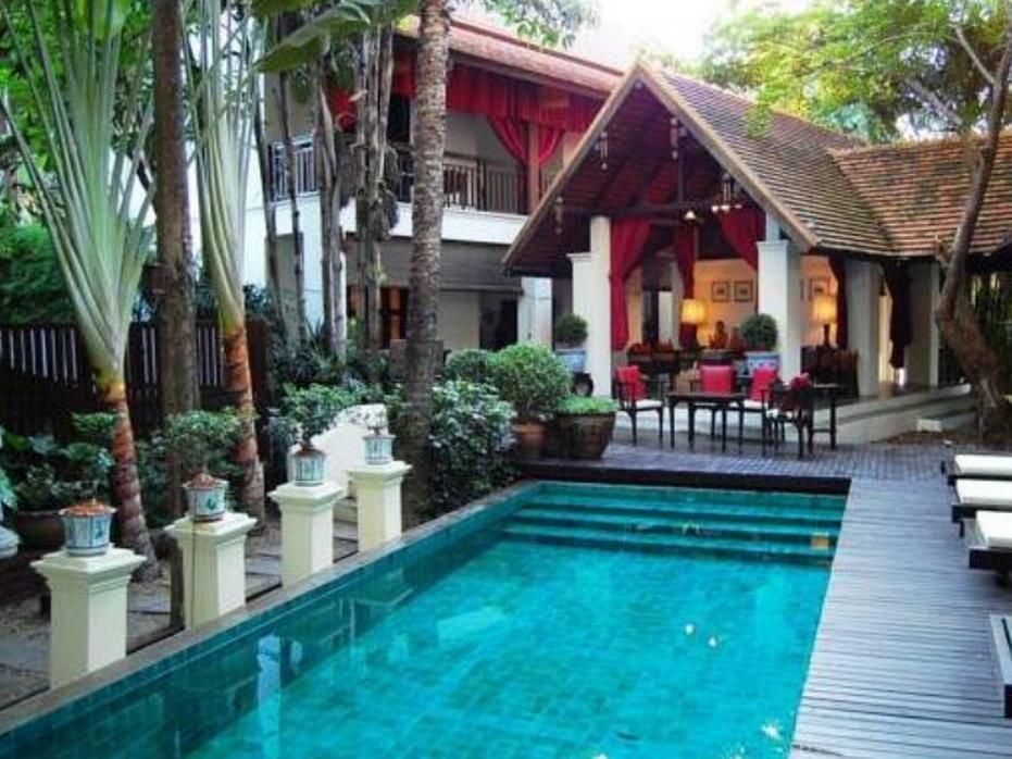 Chiang Mai Tri Yaan Na Ros Colonial House Hotel Thailand Asia Is Conveniently Located In The Popular Wua Lai Area