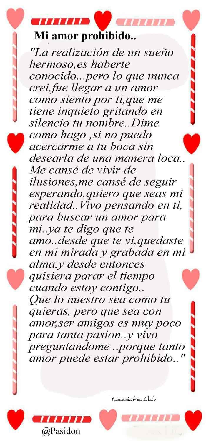 20 Cartas Poemas De Amor Muy Romanticos Para Enamorar Pensamientos Club Love Letters Love Quotes Words