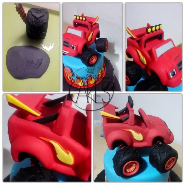 Blaze mega machine tutorial tutorials cake and monsters for Blaze e le mega macchine youtube